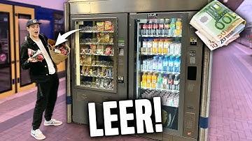SÜßIGKEITEN aus Automaten LEERKAUFEN! 😍🍫 **teuer**