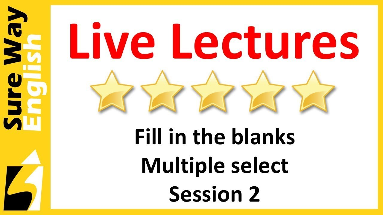 pte fill in the blanks multiple select practice questions set 2