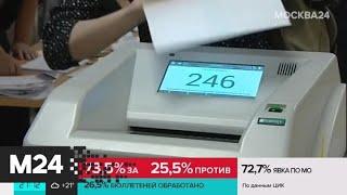 Фото Более 62% проголосовавших онлайн москвичей поддержали поправки в Конституцию - Москва 24