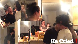MY WATER BROKE PRANK❗️ *HE CRIED*😭😱| 15 and pregnant💞