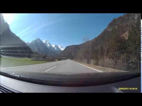 Salzburg to Zell am See + Kaprun + Kitzsteinhorn by car (in 6 minutes)