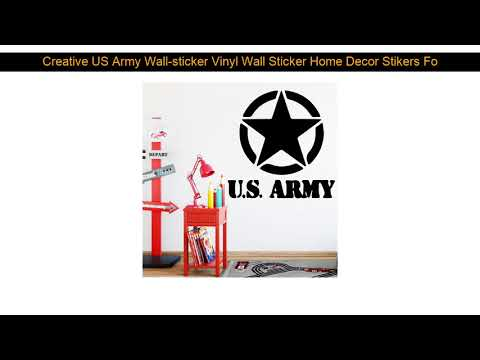 Creative US Army Wall-sticker Vinyl Wall Sticker Home Decor Stikers For Kids Living Room Decoration