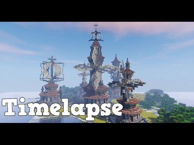 Minecraft Timelapse: Windmill Meadows