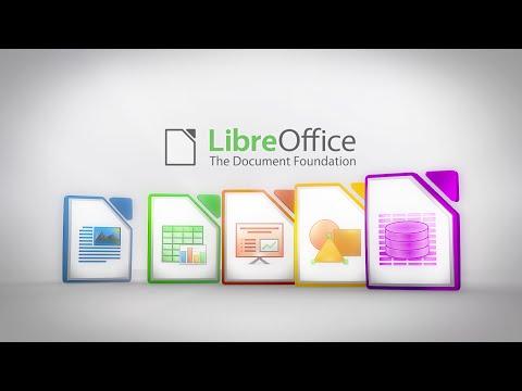 Без(с)платный аналог Microsoft Office : LibreOffice