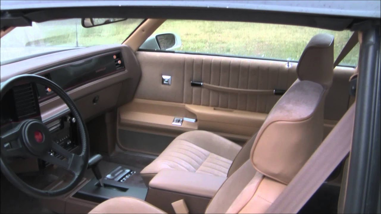 1988 Monte Carlo Ss Factory Upholstery Interior Tan By