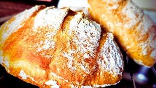 Домашен хляб. Лесна рецепта, без месене. Италианска кухня.