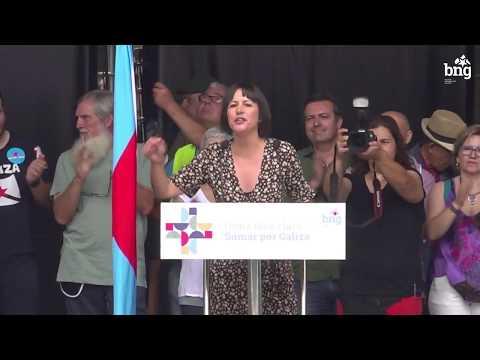 Intervención de Ana Pontón no Día da Patria Galega