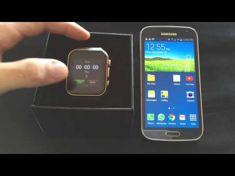 Scinex SW20 Smartwatch Instructional Tutorial Step-by-step user Guide