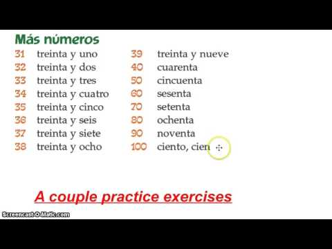 Numbers 30-1000 - YouTube