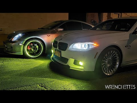 BMW 535i Xdrive Vs Infiniti G35 Coupe AT   Street Racing