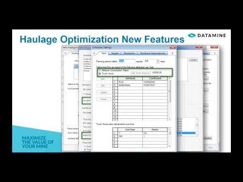 New Functionalities in NPV Scheduler