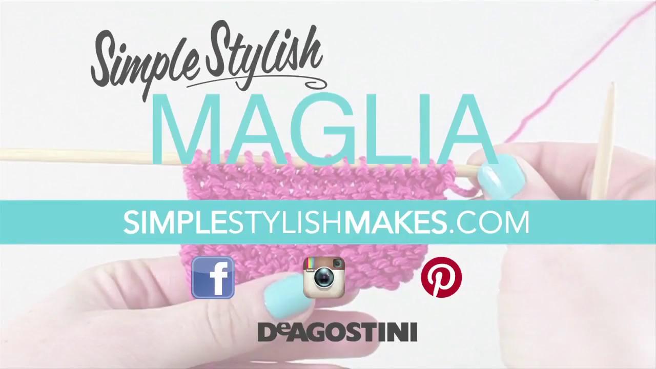 Stylish simple maglia video