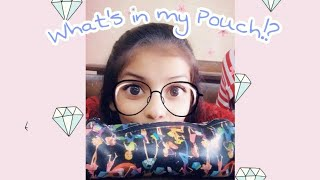 Gambar cover What's in my Pouch/Necessities❓😮|vedikajaokar