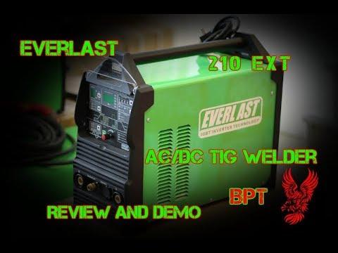 Everlast 210 EXT Review -----One Badass Little Machine!-----
