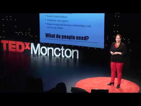 Mental health and criminal justice | Crystal Dieleman | TEDxMoncton