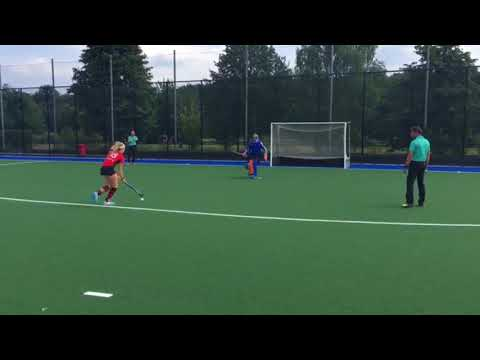 college fieldhockey recruiting video of goal tender Jet