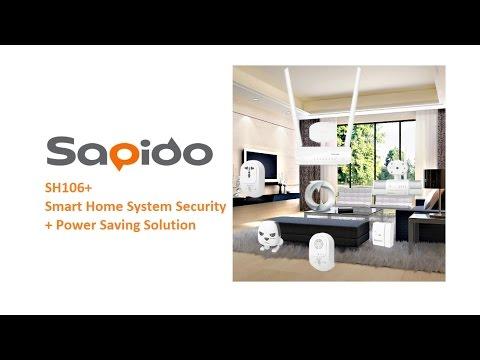 Sapido SH106+ Smart Home System Security + Power Saving Solution