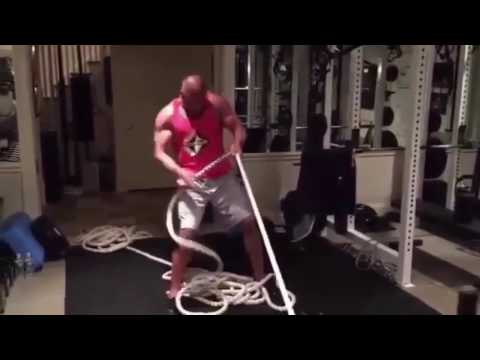 """Dwayne Johnson """"The Rock"""" vs HHH- Workout Motivation 2017"""