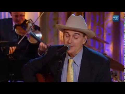 James Taylor performs