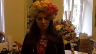 Отзыв Татьяны курсы флористики атмосфера, обучение, отзывы школа флористики Мажорель-Класс