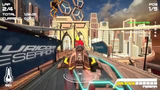 Wipeout Omega Collection - Online Races on All 2048 Tracks