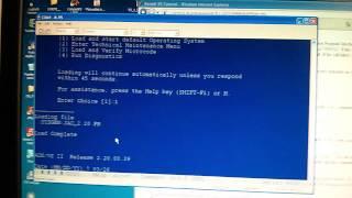 Starting AOS/VS II on my Data General MV/2000 Minicomputer