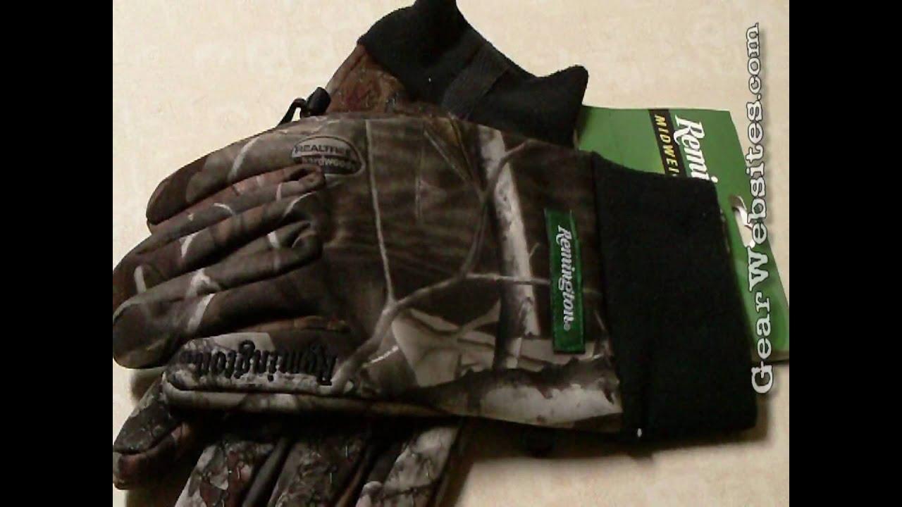 Remington Hunting Gloves Youtube