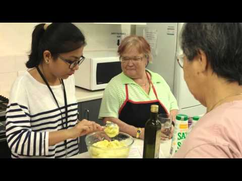 Volunteer Week 2016 - Market to Plate cooking class