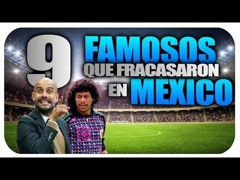 9 Extranjeros Famosos que Fracasaron en Mexico