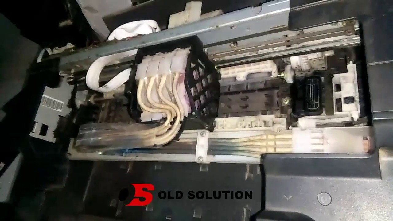 How To Change Epson L210 Ink Pipe With Full Video Of Open Timing Belt L110 L300 L350 Original New Et3600