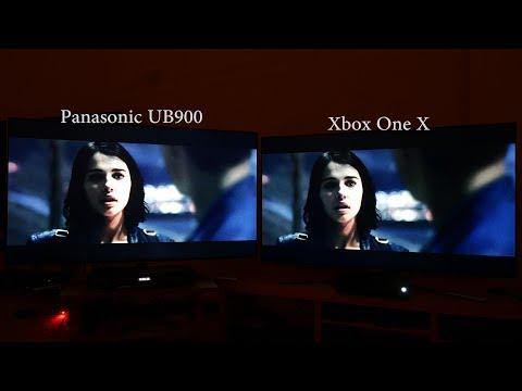 Xbox One X vs 4K Blu-ray Player Comparison Review