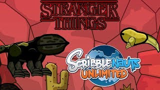 Scribblenauts Unlimited 257 Dart from Stranger Things (Demodogs)