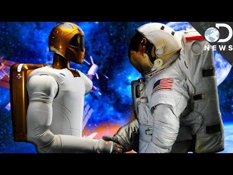 Why Astronauts Need Robots In Space