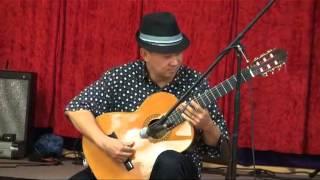 Trong com do NS Chi Thien voi dan Guitar