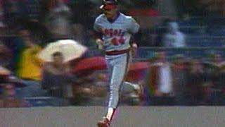 CAL@NYY: Reggie homers in Yankee Stadium return