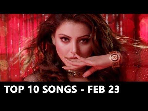 Top 10 Bollywood Songs Of The Week (Radio Mirchi Charts) - Feb 23, 2018