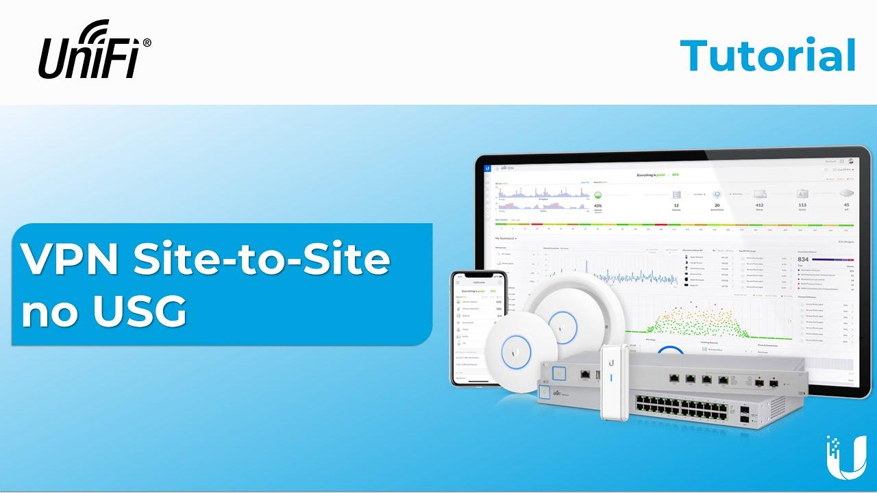 Tutorial do UniFi: Configuração de VPN Site-to-Site no USG em Poucos Cliques