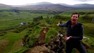 Carew's Adventures in Scotland--Exploring Fairy Glen with Nordic Visitor!