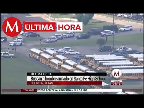 Reportan tiroteo en secundaria de Texas
