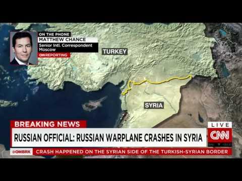 NEWS - Turkey Shoots Down Russian Fighter Jet near Syrian Border 24.11.2015