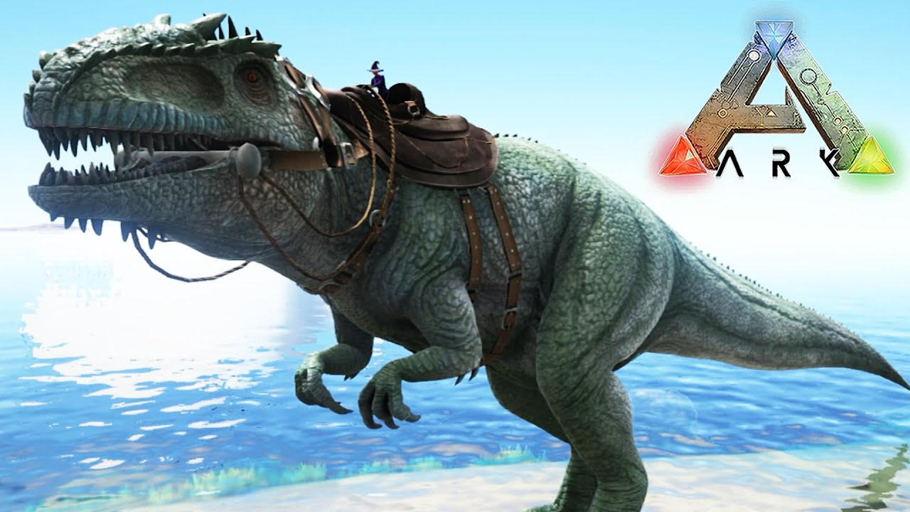 how well could indominus rex survive in the world of ark