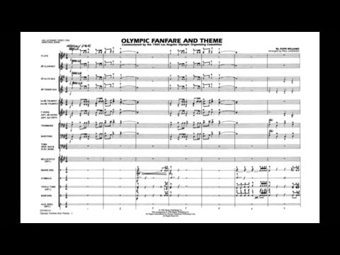 Olympic Fanfare and Theme by John Williams/arr. Paul Lavender