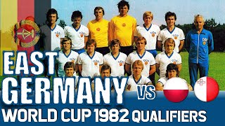 East Germany World Cup 1982 Qualification All Matches Highlights Road to Spain
