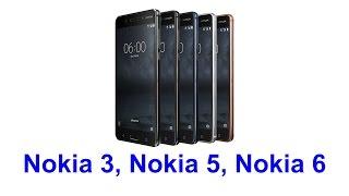 видео HMD представила смартфоны Nokia 5.1, Nokia 3.1 и Nokia 2.1