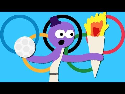 Zombey ist bei den Olympischen Spielen.