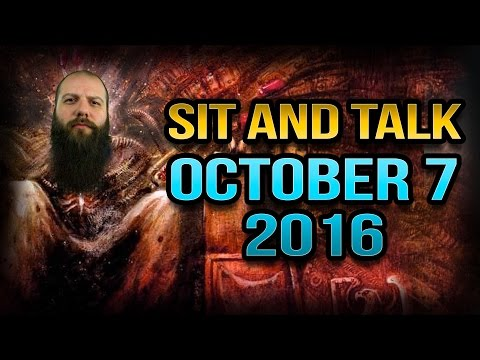 Sit and Talk with Josh October 7th 2016