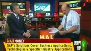 SAP co-CEO Bill McDermott on CNBCs Mad Money with Jim Cramer