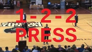 Learn Jay Wright's Rules for the 1-2-2 Press! - Basketball 2016 #68