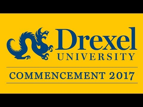 2017 Drexel Commencement: School of Biomed Engineering, Science, and Health Systems