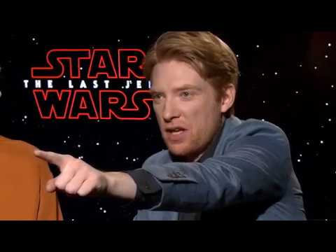 Domhnall Gleeson Funny Moments  Part 4